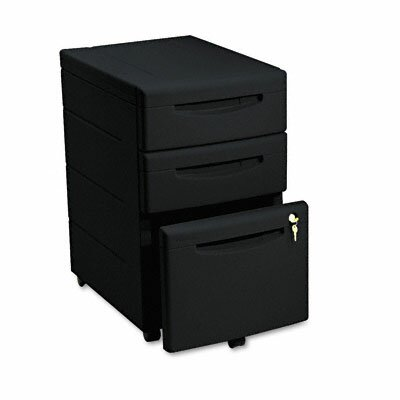 Iceberg Enterprises Aspira Mobile Underdesk Pedestal File, Resin