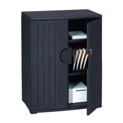"Iceberg Enterprises Storage Cabinet, 2-Shelf, 36""x22""x46"""