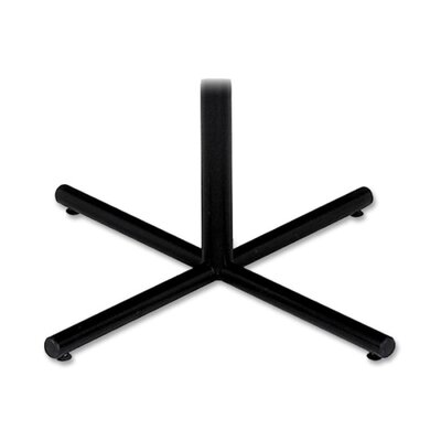 "Iceberg Enterprises X-Base, For Round Table, 28""H, Black"