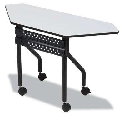 Iceberg Enterprises OfficeWorks Trapezoid Mobile Training Table
