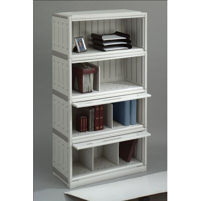 Iceberg Enterprises SnapEase Stackable Shelf File in Platinum