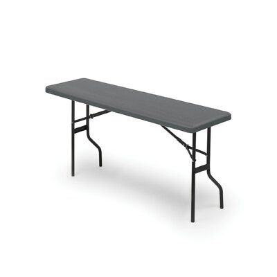 Iceberg Enterprises IndestrucTable TOO 1200 Series Folding Table in Charcoal