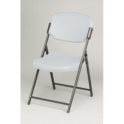 Iceberg Enterprises Folding Chair in Platinum (Pack of 4)