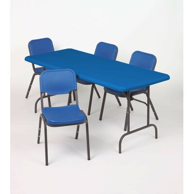 "Iceberg Enterprises IndestrucTable TOO 1200 Series 96"" Adjustable Folding Table"