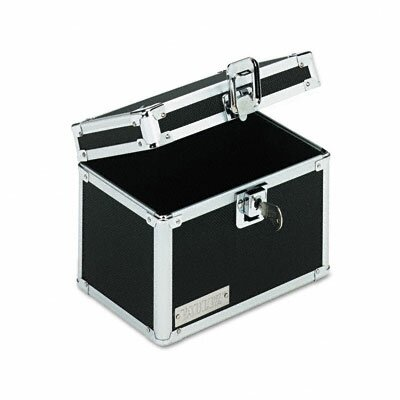 Ideastream Products Vaultz Vaultz Locking Index Card File with Flip Top