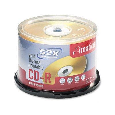 Imation CD-R Disc, 700Mb/80Min, 52X, 50/Pack