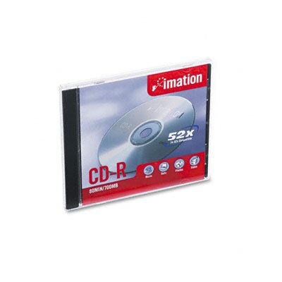 Imation CD-R Discs with Jewel Cases