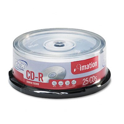 Imation CD-R Disc, 25/Pack