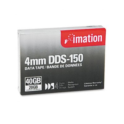Imation DDS-4 Cartridge Compressed Capacity