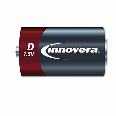 Innovera® Alkaline Battery, 12/Pack