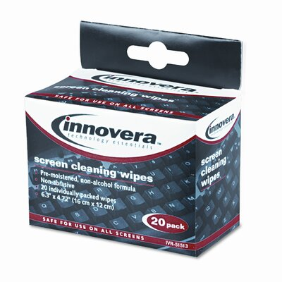 Innovera® Screen Cleaning Wipe, 100/Pack