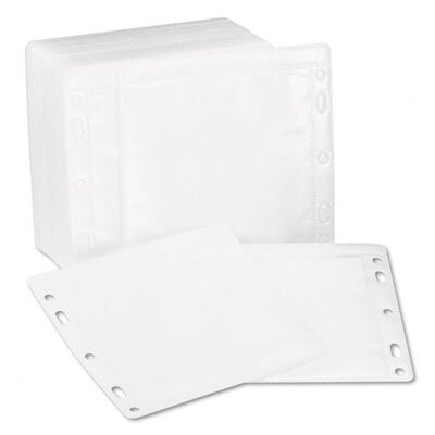 Innovera® Two-Sided CD/DVD Sleeve, 100/Pack