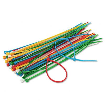 Innovera® Cable Ties, 50/Pack