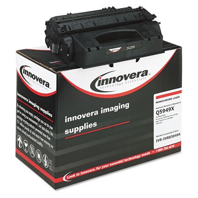 Innovera® 83049X (Q5949X) Remanufactured Laser Cartridge, High-Yield, Black