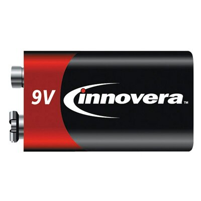 Innovera® Alkaline Batteries 9V 9.0 Volts
