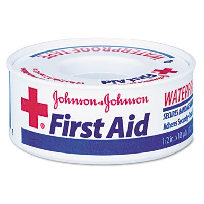 Johnson & Johnson Band-Aid First Aid Kit Waterproof Tape