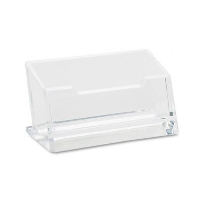 Kantek Business Card Holder, Capacity 80 Cards