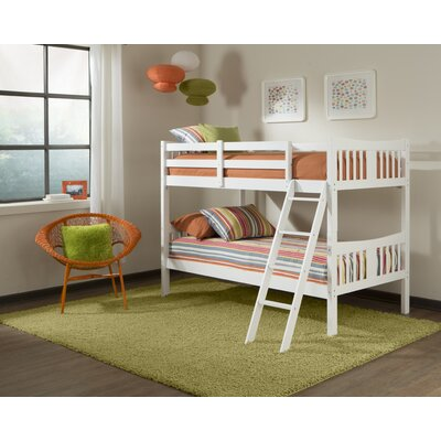 Storkcraft Caribou Twin over Twin Bunk Bed with Ladder