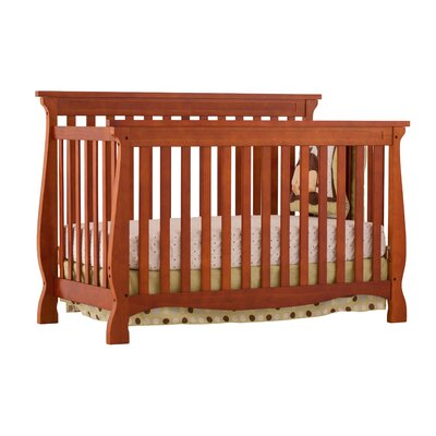 Storkcraft Carrara Fixed Side 4-in-1 Convertible Crib