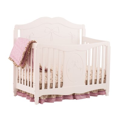 Princess Fixed Side 4-in-1 Convertible Crib
