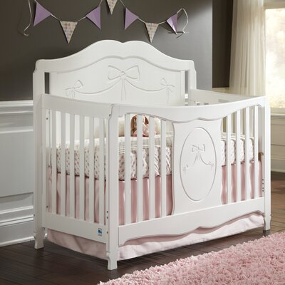Princess Fixed Side Convertible Crib