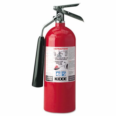 Kidde Fire and Safety Proline Pro 5 Carbon Dioxide Fire Extinguisher