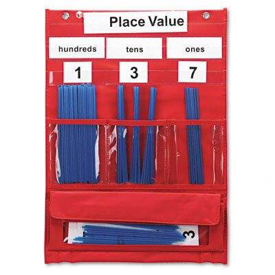Learning Resources® Counting and Place Value Pocket Chart with Cards