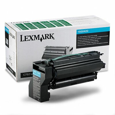 Lexmark International 15G042C High-Yield Toner, 15000 Page-Yield