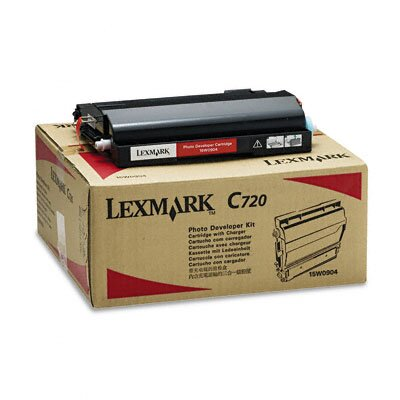 Lexmark International 15W0904 Photodeveloper Cartridge, Black