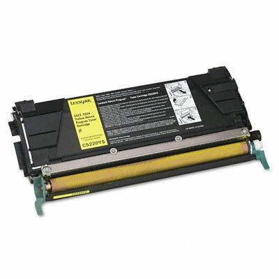 Lexmark International C5220YS Toner Cartridge, 3000 Page-Yield