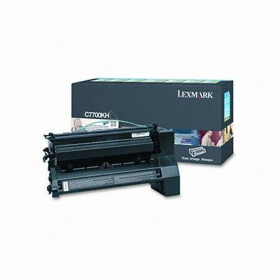Lexmark International C7700KH High-Yield Toner, 10000 Page-Yield