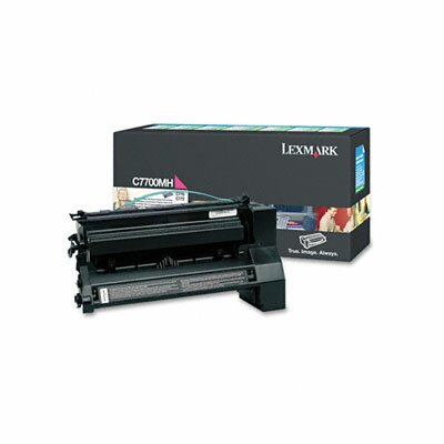 Lexmark International High-Yield Toner, 10000 Page-Yield
