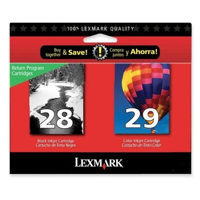 Lexmark International Ink Cartridge (Set of 2)