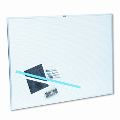 Magna Visual, Inc. Changeable Planner Kit 3' x 4' Whiteboard
