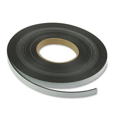 "Magna Visual, Inc. Magnetic/Adhesive Tape, 1/2"" x 50-ft Roll"