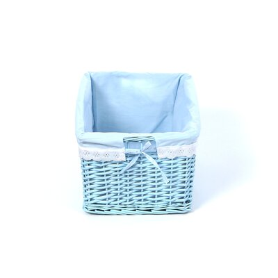 Badger Basket Three Wicker Baskets with Liners
