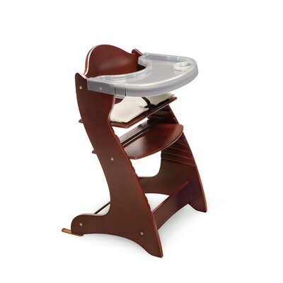 Embassy Wood High Chair with Tray