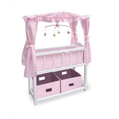 Doll Crib with Canopy