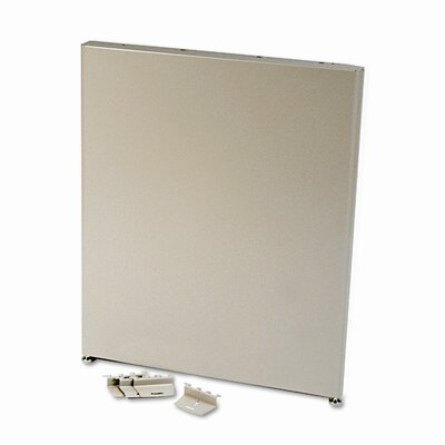 Maxon Furniture Parallel Series End Panel, Steel, 24d x 28h, Gray