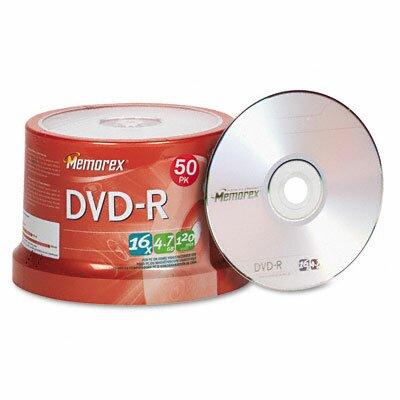 Memorex DVD - R Discs, 50/Pack