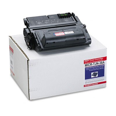 MicroMICR Corporation MICRTJN38A Compatible MICR Toner, 15000 Page-Yield, Black