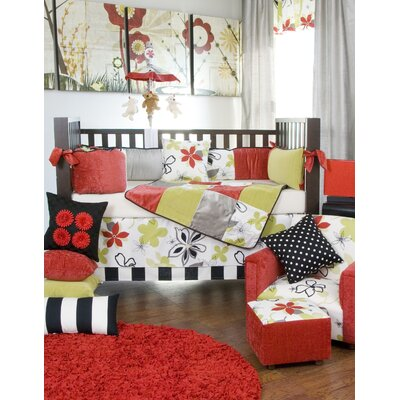 Glenna Jean McKenzie 5 Piece Crib Bedding Set with Diaper Stacker