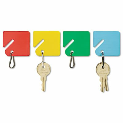 MMF Industries Steelmaster Slotted Rack Key Tags, 20/Pack