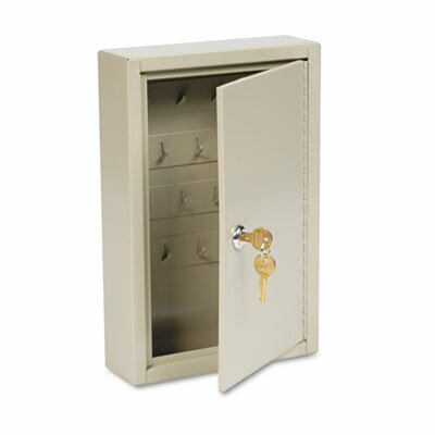 MMF Industries Steelmaster Dupli-Key Two-Tag Cabinet, 30-Key