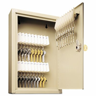 MMF Industries Steelmaster Uni-Tag Key Cabinet, 30-Key