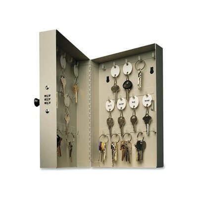 MMF Industries Steelmaster Hook-Style Key Cabinet