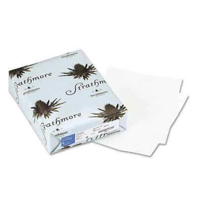 Mohawk Fine Papers 25% Cotton Laid Finish Writing Paper, Natural White, 500 Sheets