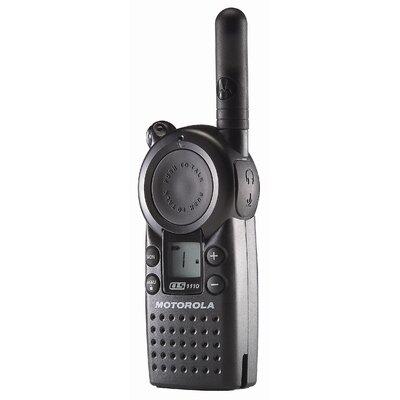 Motorola CLS1110 One-Watt, One-Channel UHF Business Two-Way Radio