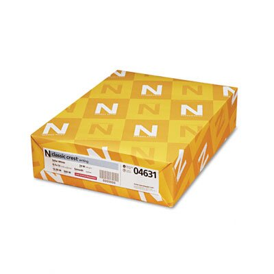 Neenah Paper Classic Crest Stationery Writing Paper, 24-Lb., 8-1/2 X 11, 500/Ream