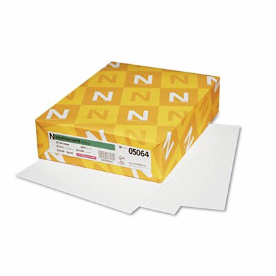 Neenah Paper Environment Premium Writing Paper, White, 24#, 8-1/2 x 11, 500 Sheets per Ream                                               